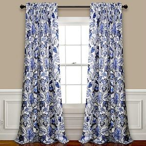 NWT Alcott Hill 2-Panel Floral Curtains